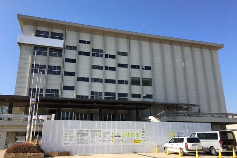 【茨木市】茨木市民会館跡地の工事が始まるも・・・なにやら計画に変更点が?