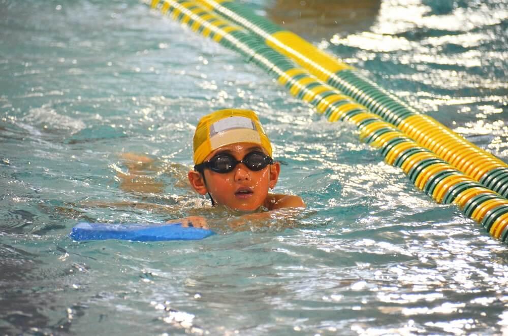 水泳の練習