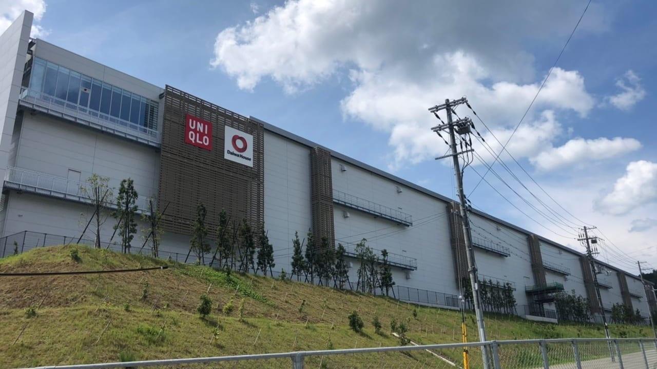 ユニクロの西日本倉庫